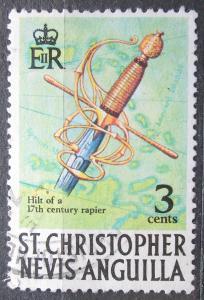 Svatý Kryštof a Nevis 1970 Rukojeť kordu Mi# 202 X 2085