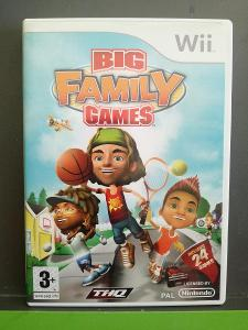 Big Family Games (Wii) - kompletní, jako nová