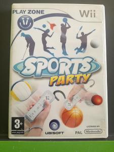 Sports Party (Wii) - jako nová