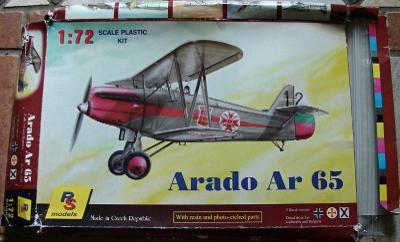 Arado Ar 65 1/72 RS models