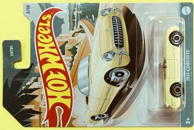 1955 Corvette - Hot Wheels celokov. - 2020 (H8-h6)