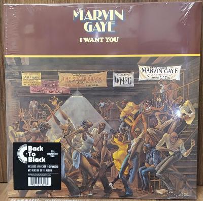 LP vinyl Marvin Gaye I Want You