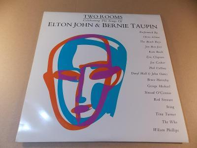 Elton John & Bernie Taupin TWO ROOMS various 1991 2LP