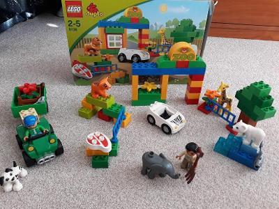 Lego ZOO plus TRAKTOR plus GRAND PRIX jako nové