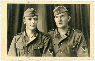 """Foto - """" Vojaci Wehrmachtu """""""