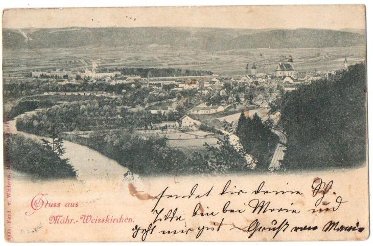 Gruss aus Mährisch - Weisskirchen  - Pohlednice