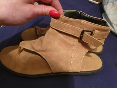 Dámské letní boty vel.39,5