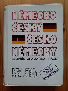 Německo-český a česko-německý slovník gramatika fráze
