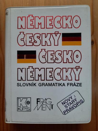 Německo-český a česko-německý slovník gramatika fráze - Učebnice