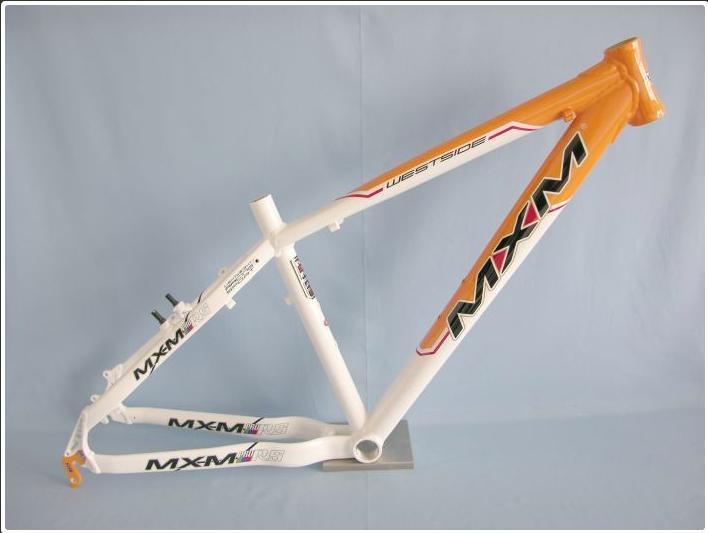 """Nový rám na kolo MXM MTB i.s. Oranžová / Bílá Alu 7005, vel. 56 (22"""") - Cyklistika"""