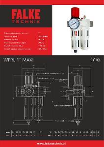 Jednotka pro úpravu stlačeného vzduchu FALKE WFRL maxi–šroubení 1''