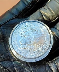 Český lev 2021 1oz stříbrná investiční mince