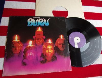 💥 LP: DEEP PURPLE - BURN, original 1st pressing  West Germany 1974