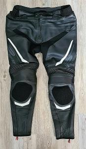 Kožené kalhoty PROBIKER - vel. 3XL/58, pas: 100 cm