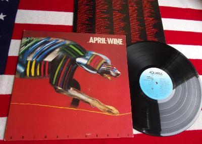 💥 LP: APRIL WINE - ANIMAL GRACE, jako nová, 1. press  original CANADA