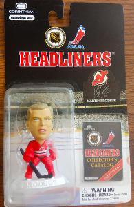1998-99 Headliners NHL figurka Martin Brodeur