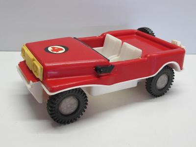 Staré retro hračka - auto JEEP