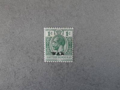Br. Honduras 1917 *