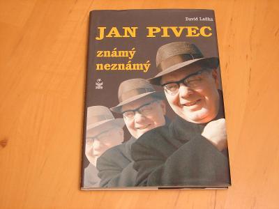 Jan Pivec známý neznámý, David Laňka - Kniha (B2)