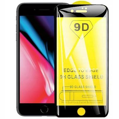 Ochranné sklo 9D na celý displej pro iPhone 7/8 PLus - Černý rámeček!