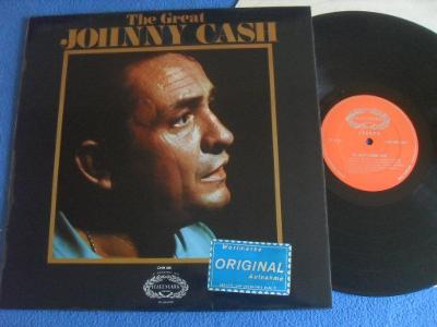 LP Johnny Cash - Great