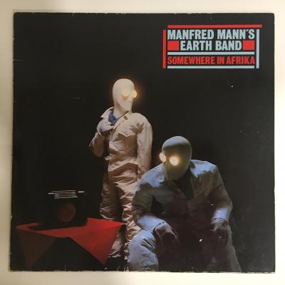 Manfred Mann's Earth Band – Somewhere In Afrika - LP vinyl