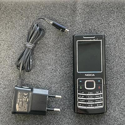 Tlačítkový telefon Nokia 6500
