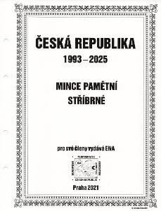 Album na mince České republiky - pamětní mince 1993-2025