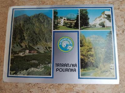 Pohlednice Slovensko Vysoké Tatry Tatranská Polianka Velická dolina