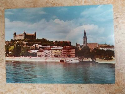 Pohlednice Slovensko Bratislava Bratislavský hrad
