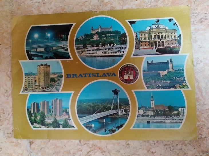 Pohlednice Slovensko Bratislava - Pohlednice