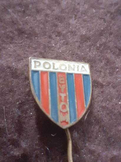 Odznak POLONIA BYTOM - fotbalový klub Polsko - Faleristika