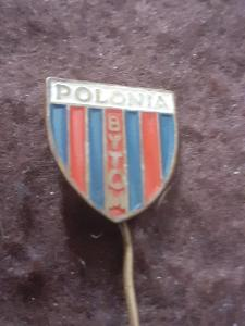 Odznak POLONIA BYTOM - fotbalový klub Polsko