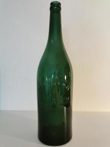Stará pivní láhev PIVOVAR VLAŠIM