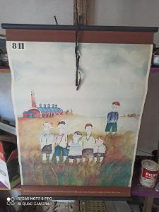 školní plakát