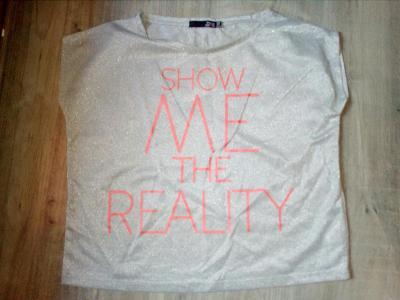 Nádherné volné triko vel.S