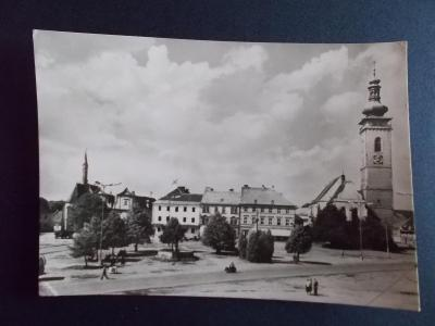 České Budějovice Tábor Soběslav náměstí Československé republiky