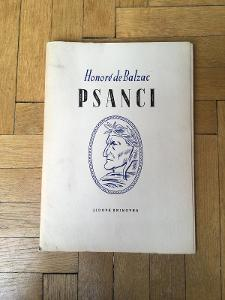 Psanci / Honore de Balzac / LK 1949