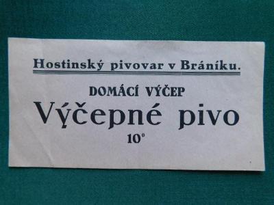 PE - Pivovar - Praha XV. - Praha - Braník -  Hostinský  Pivovar v Brán