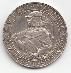 """Fr.J.I.,2 zlatník strelecký 1885 Innsbruck , """" R """", nádherný stav TOP"""