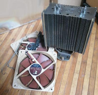 Chladič na procesor NOCTUA NH-U12P SE2 - vysoce kvalitní, silný, tichý
