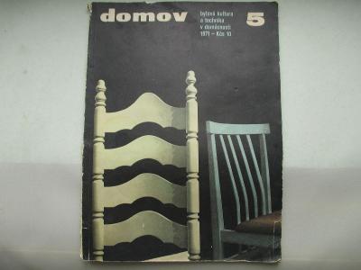 ČASOPIS DOMOV - 5/1971