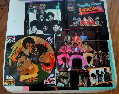 LP- MICHAEL JACKSON & JACKSON 5. - 14 Greatest Hits (Picture LP)´1984