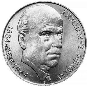 Stříbrná mince 100 Kčs 1984 Antonín Zápotocký, perfektní stav!