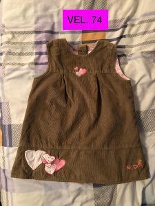 Dívčí šaty SNOOPY vel. 74