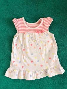 Dívčí šaty VEL. 74