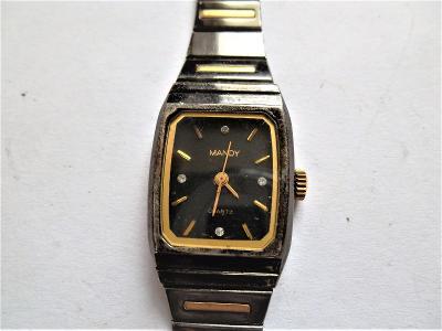 Náramkové hodinky Mandy Quartz*6-106