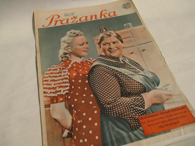 PRAŽANKA - ČÍSLO 776 (37) ROK 1939 - tit VĚRA FERBASOVÁ / NEDOŠÍNSKÁ