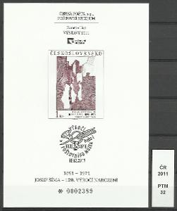 ČR 2011, PTM 32, číslo 0002389