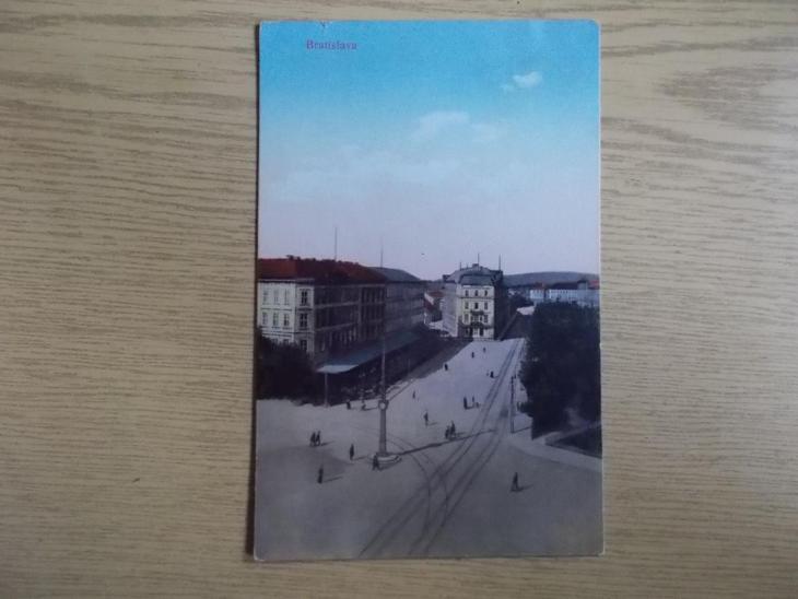 Slovensko Bratislava Pressburg tramvaj - Pohlednice
